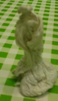 Pöytäkoriste - patsas